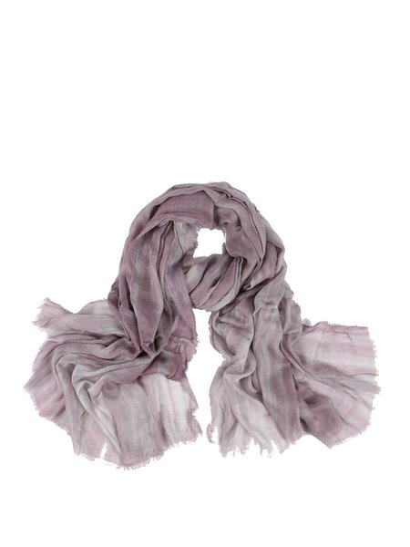 Purple Casual Dip Dyed Scarf