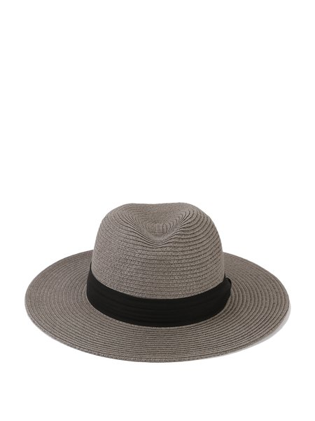 Braided Resort Hat