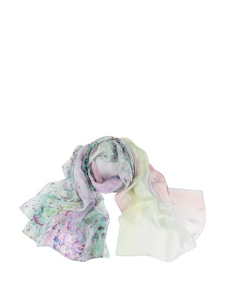 Casual Printed Silk Scarf