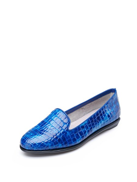 Royal Blue Office & Career Summer Loafers