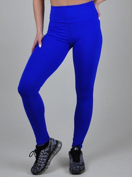 Blue Quick Dry Leggings