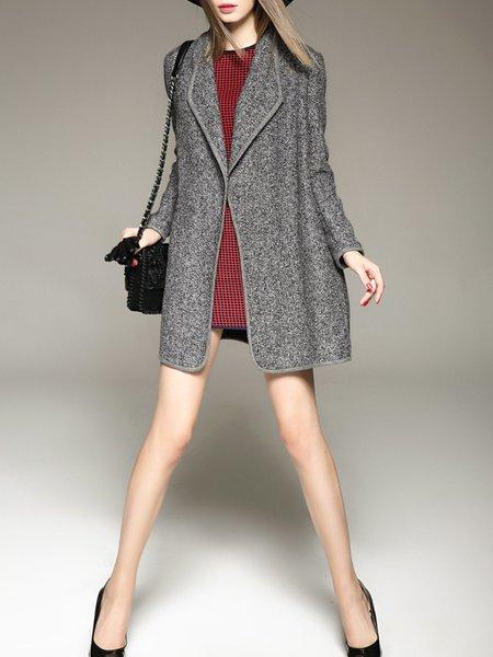 Shift Long Sleeve Sweet Long Coat