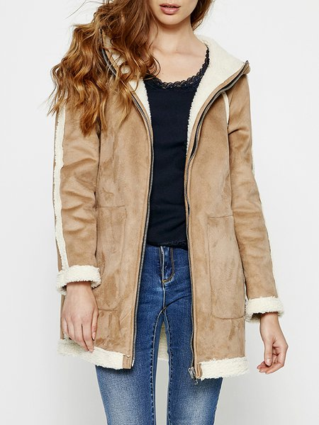 Hoodie Reversible Casual Long Sleeve Coat