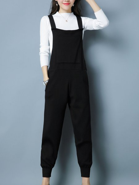 Cotton Long Sleeve Casual Stand Collar Two Piece Top With Pants
