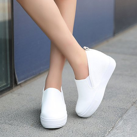 White Winter Comfortable Creepers