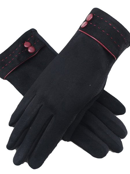 Suede Casual Gloves