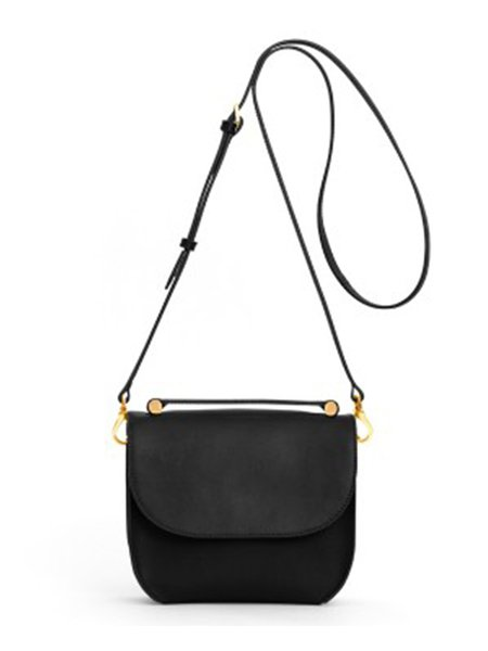 Leather Magnetic Casual Small Shoulder Bag