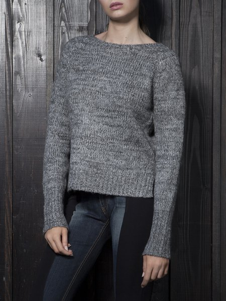Crew Neck Knitted Casual Long Sleeve Sweater