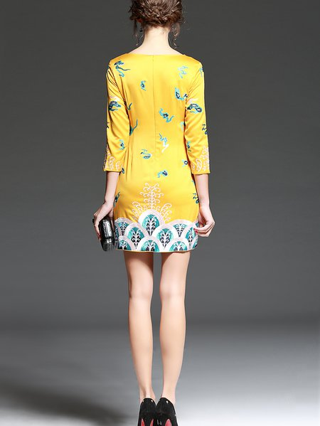 Dress 4 yellow