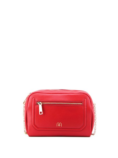 Fuchsia Medium Casual Satchel