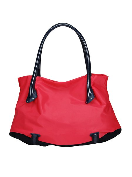 Casual Large Nylon Zipper Shoulder Bag