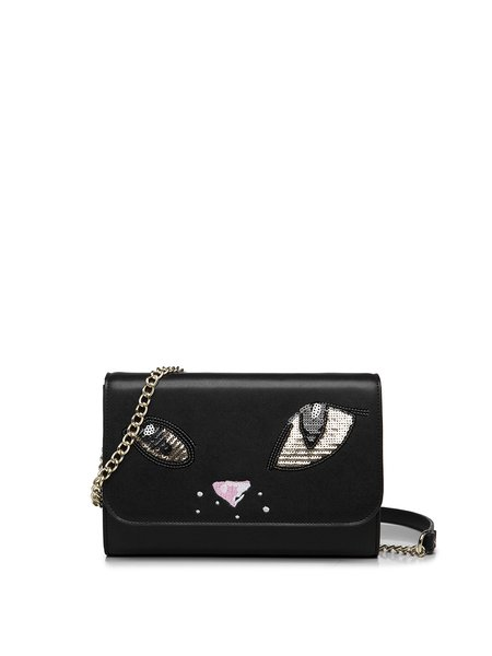 Cute Sequins Embellished Magnetic Crossbody Bag
