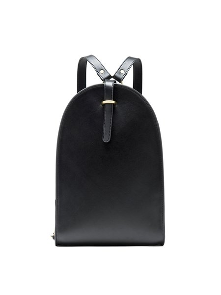 Large Zipper Casual Solid Split Leather Backpack