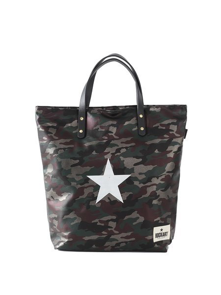 Black Medium Casual Printed PU Tote