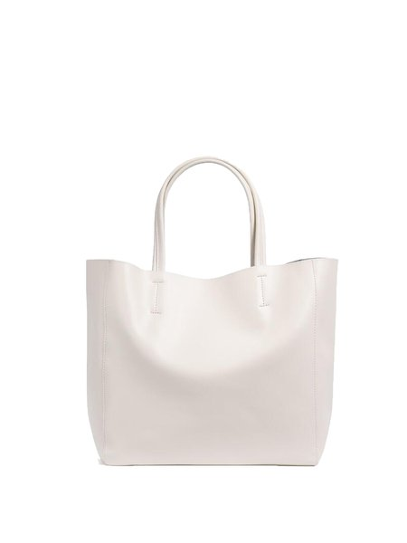 Zipper Medium Casual Solid Cowhide Leather Tote