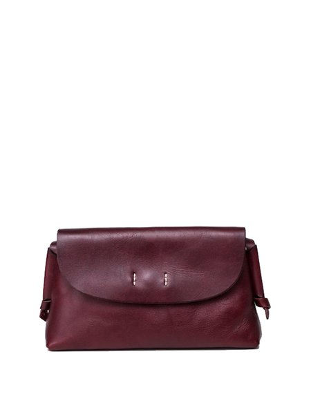 Wine Red Small Casual Crossbody