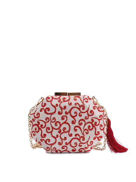 Red Retro Mini Crossbody