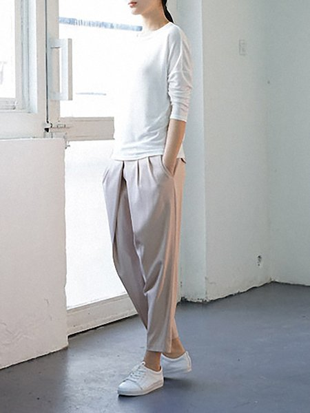 Apricot Pockets Casual Polyester Track Pants  Add to Favorites