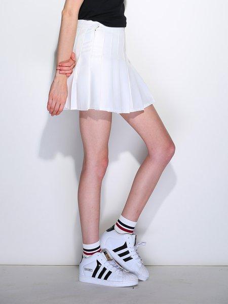 White Polyester Skirt 108