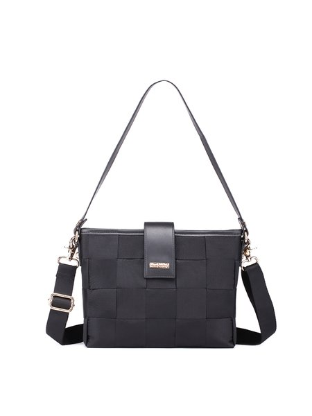 Zipper Small Nylon Casual Shoulder Bag