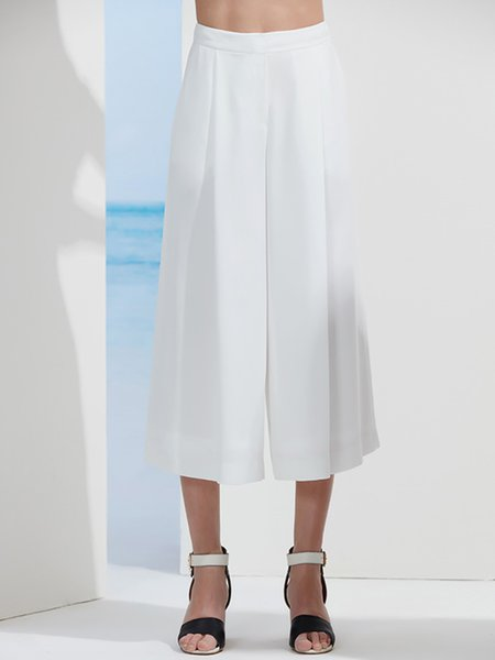 https://www.stylewe.com/product/white-simple-a-line-plain-wide-leg-pants-47206.html