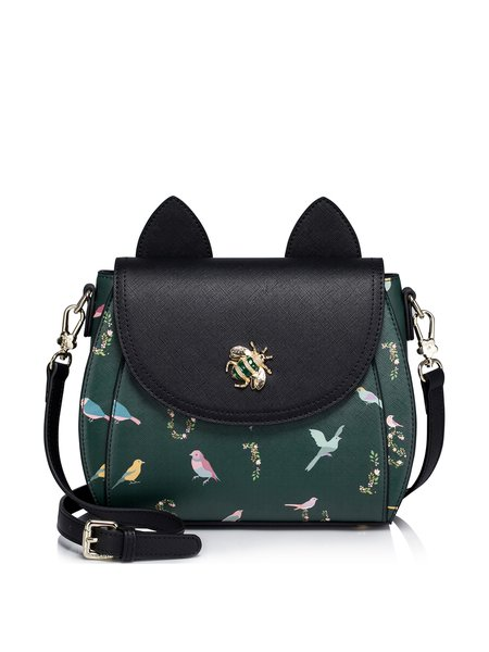 Printed PU Magnetic Sweet Crossbody