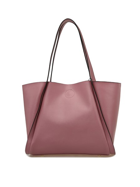 Pink Medium Casual Tote