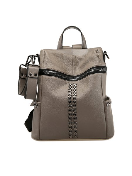 Gray Medium Casual Backpack