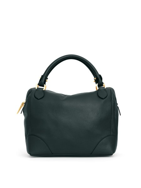 Black Small Casual Calfskin Leather Crossbody