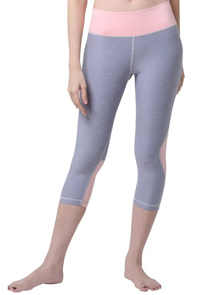 Gray Quick Dry Nylon Bottom (Sportswear for Running)