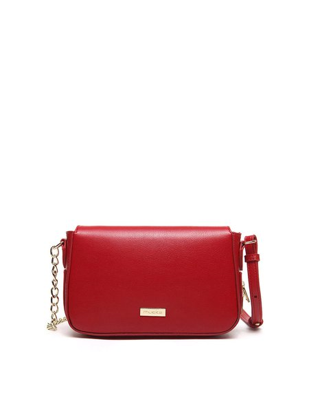 Red Small Casual PU Crossbody
