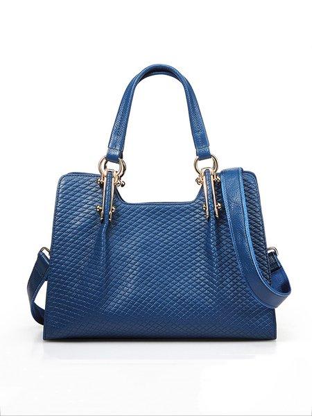 Cowhide Leather Zipper Casual Medium Shoulder Bag