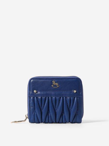 Casual Cowhide Leather Mini Zipper Wallet