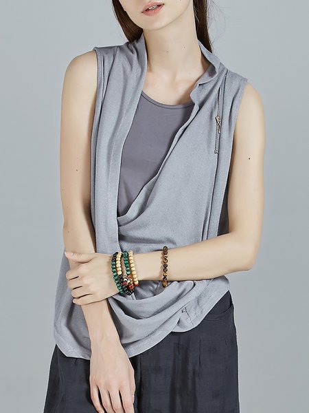 Sleeveless Plain Statement Tanks And Cami