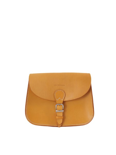Small Magnetic Cowhide Leather Retro Crossbody