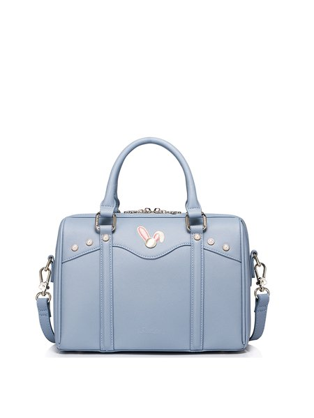 Small Sweet Zipper PU Satchel