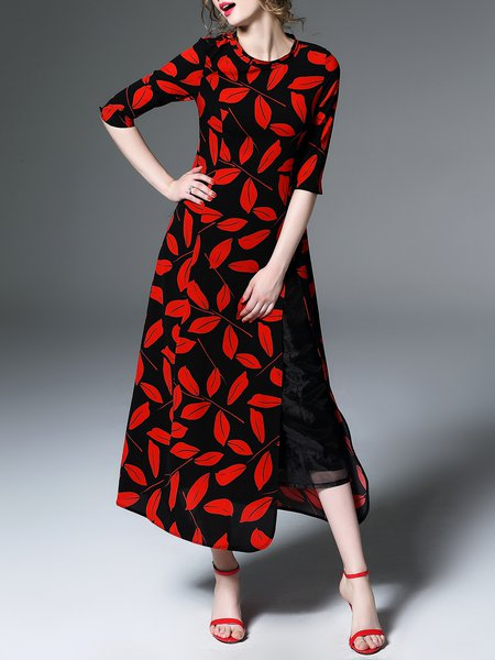 https://www.stylewe.com/product/multicolor-crew-neck-half-sleeve-two-piece-maxi-dress-43828.html