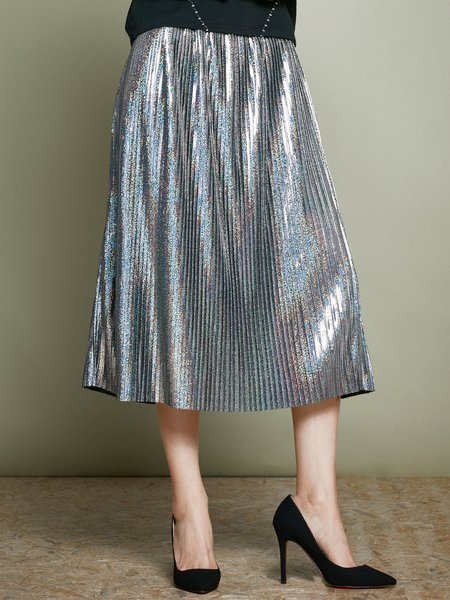 https://www.stylewe.com/product/silver-pleated-a-line-simple-plain-midi-skirt-66536.html