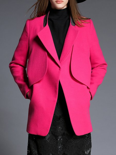 Fuchsia High Temperature Setting Basic Solid Coat