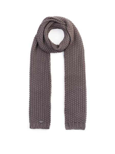 Knitted Plain Elegant Scarf