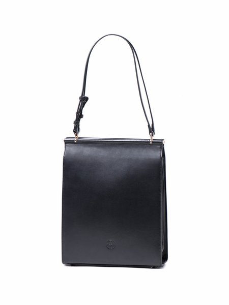 Solid Rectangle Casual Split Leather Magnetic Shoulder Bag