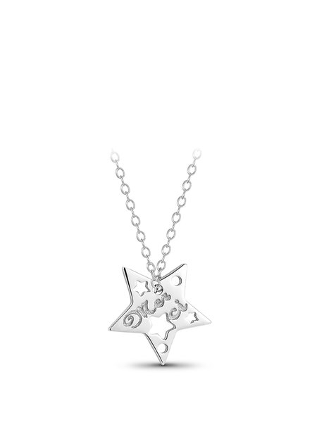White Star 925 Sterling Silver Necklace