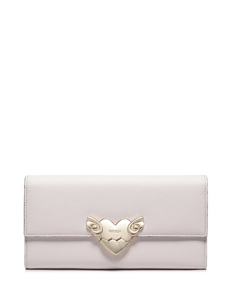 Apricot Sweet Heart Magnetic Wallet