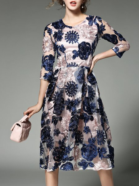 https://www.stylewe.com/product/multicolor-floral-3-4-sleeve-a-line-guipure-party-dress-107949.html