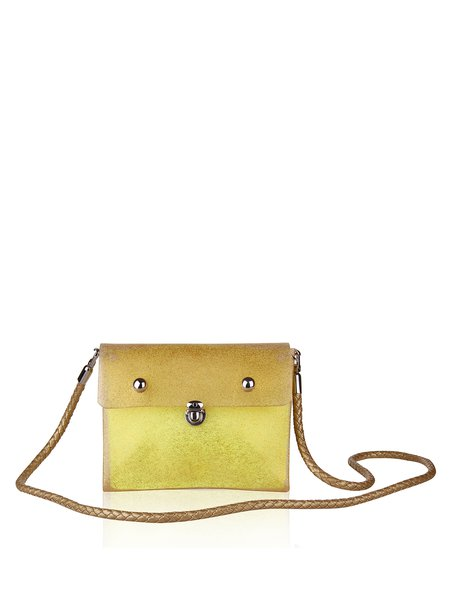 Mini Statement Push Lock Rubber Crossbody