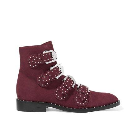 Buckle Low Heel Casual Boots