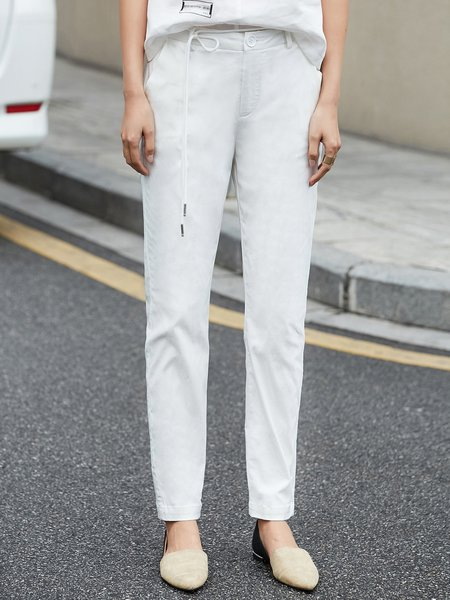 Casual Straight Leg Pant