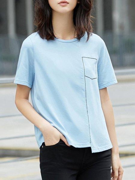Simple Cotton Short Sleeve T-Shirt