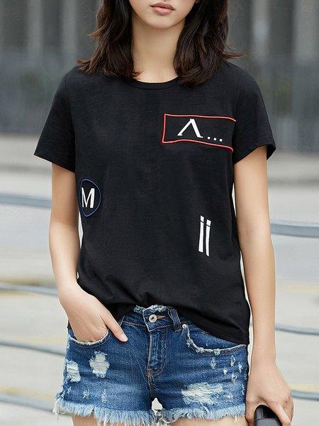 Shorts Sleeve Printed T-Shirt