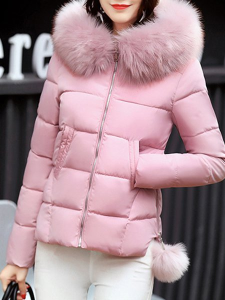 Zipper Casual Coat